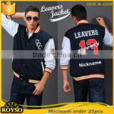 Customize Letterman Wool American Varsity Jackets Baseball College Bomber Jacket for School College Wholesale With High Quality