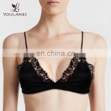 Small Quantity Satin Women Underwear Beautiful Sexy Bra Design