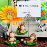 Charming Monkey Design Place Card Holder Favors baby shower favor