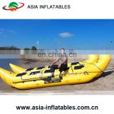 Cheap Price flying inflatable banana boat fly fish towable tube raft water games for sale