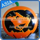 2016 Newest Eye Catching Custom Pumpkin Horse Light best Selling Advertising Inflatable Helium Balloon