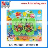 magnetic plastic wind up animal fishing toy