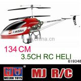 134cm 3.5CH adult big universal remote control helicopter for sale