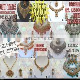 INDIAN KUNDAN WHOLESALE JEWELRY/JEWELLERY