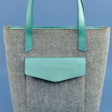 felt shopping bag for women with best price