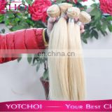 Brazilian Virgin Hair Silky Straight 613 Bleach Blonde Brazilian Virgin Hair Extensions Brazillian Human Hair Weave