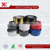 Best sales used in label printing machine to print label black FC3 hot transfer ribbon