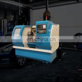 Safety Alloy Wheel CNC Machining Lathe Rim Polishing Machine AWR2840