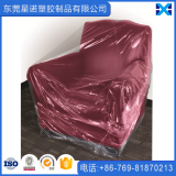 China Factory LDPE Plastic Clear Color Twin Packs Chair Cover Furniture Cover