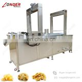 High Quality French Fries Plantain Chips Shrimp Spring Roll Frying Machine Potato Chips Fryer Machine