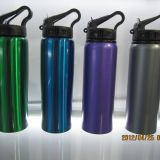 hiking outdoor sports water bottle stainless drinking water bottle with straw
