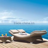hot sale garden furniture swimming pool outdoor beach sunbed                                                                         Quality Choice