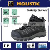 Durable and Breathable Anti slip anti shock Steel Toe Safety shoe for women