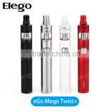 Elego Offer Newest Optimal Airflow 4ml CUBIS Pro Atomizer with Joyetech eGo Mega Twist+ Battery Joyetech eGo Mega Twist+ Kit