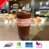 Hot Sale Silicone Collapsible Coffee Travel Mug