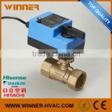 Newest Best Selling Factory Direct Plastic Solenoid Valve 24V