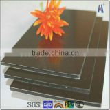 gold mirror finish aluminum composite panel new popular building material                                                                         Quality Choice