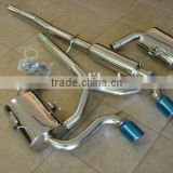 FULL CATBACK EXHAUST for BMW Mini Cooper S R53 04-06 63mm pipe 76mm tips