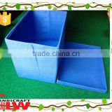 square foldable fabrics paper storage box type, travelling storage box, vacation holiday storage box with cap