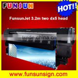 New design ! hot selling 3.2m advertising sublimation printer indoor and outdoor printing