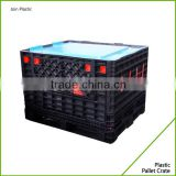 Hot Sales plastic box pallet,collapsible plastic pallet box,plastic pallet box                                                                                                         Supplier's Choice