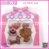 Factory Outlets The Puppy Combination Suit Patch, Ironed and Sewn Children Embroidery Patch