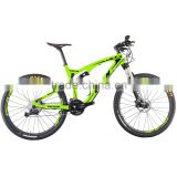2016 cheap carbon fiber bicycle high quality 27.5inch full suspension carbon frame mountain bike MTB