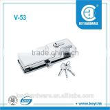 V-53 glass door bottom clamp fittings/glass door lock
