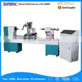china automatic 3 axis single axis two blade/cutter 3d engraving cnc wood lathe