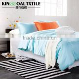 Wholesale Sky blue 100% Bamboo Bedding Set including duvet cover