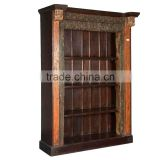 Hot selling Antique Carved Book Case, Living Room Book Case, Office use Shelf
