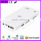 3D DLP projector china mobile phone wifi support Android iOS Windows Mac