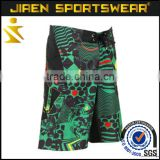 training wear boxing thai shorts custom sublimation printing quality surf boardshorts men's boardshorts