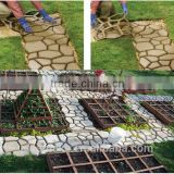 Garden Decor Plastic Concrete Pavement Walk Maker Mold Cobble Paving Block Mould Ornaments for sale South Africa