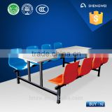 school dining hall use folding desk and chair