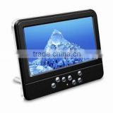 Portable TV with 16:9 Wide-screen and 7-inch Color TFT-LCD