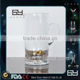 High Quality Crystal Clear Wholesale Glass Milk Jug