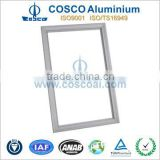 Aluminium led backlit poster frame