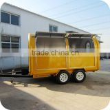 2014 High Quality Energy Save Mobile Crispy Corn Snack Food Trolley Cart for Ice Cream XR-FC350 D