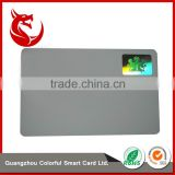 Top grade glossy blank hologram stickers master card                                                                                         Most Popular