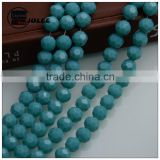 Beads making machine football manufacture beads new arrival Crystal 32 Faceted Round Glass Beads for Sale