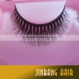 1Pairs Soft False Fake Human Hair Eyelashes Adhesives Glamour Eye lashes Makeup Beauty Wholsale