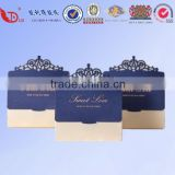 the western style high quality beautiful papercard candy box