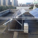 galvanize flat roof solar mounting system installation bracket parts of a roof structure