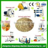 2015 High quality poultry hops feed pellet mill, animal feed pellet making machine