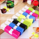 Assorted Colors Home Kitchen Snack Sweets Food Seal Colorful Food Plastic Bag Seal Plastic Bag Sealing Clip Clamp Sealer