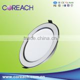 IP44 CE&Rohs led down light ip44/24W led recessed downlights/24W high quality led downlight