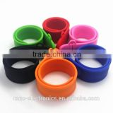 Soft silicone material customize logo printing 2GB, 4GB, 8GB, 16GB slap wristband usb thumb pen drive                                                                                                         Supplier's Choice