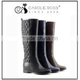 No brand Height increasing custom knee boots women wedge shoes