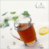 lipton glass cup glass tea cup with handle clear glass tea cups